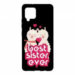 Чохол для Samsung A42 5G Best sister ever