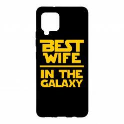 Чехол для Samsung A42 5G Best wife in the Galaxy