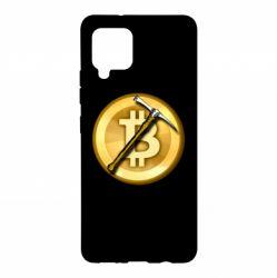 Чохол для Samsung A42 5G Bitcoin Hammer