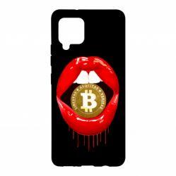 Чохол для Samsung A42 5G Bitcoin in the teeth