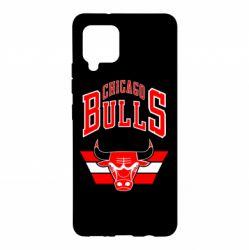 Чохол для Samsung A42 5G Великий логотип Chicago Bulls