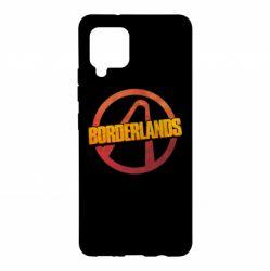 Чехол для Samsung A42 5G Borderlands logotype