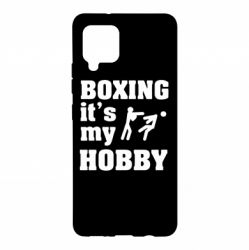 Чохол для Samsung A42 5G Boxing is my hobby