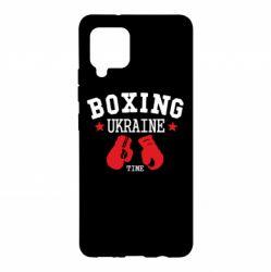 Чехол для Samsung A42 5G Boxing Ukraine