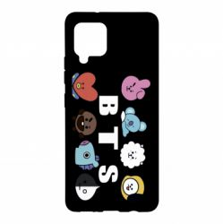 Чохол для Samsung A42 5G Bts emoji