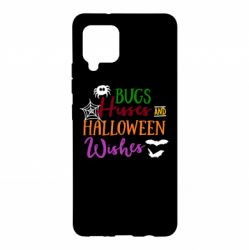 Чохол для Samsung A42 5G Bugs Hisses and Halloween Wishes