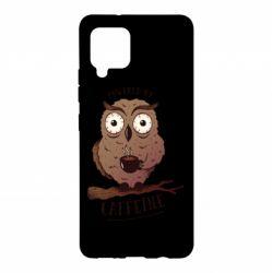 Чохол для Samsung A42 5G Caffeine Owl