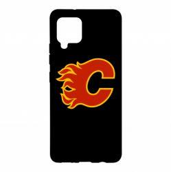 Чехол для Samsung A42 5G Calgary Flames