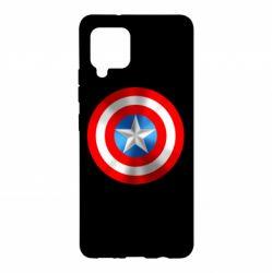 Чехол для Samsung A42 5G Captain America 3D Shield