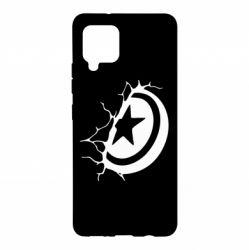 Чохол для Samsung A42 5G Captain America shield