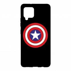 Чехол для Samsung A42 5G Captain America