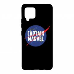 Чохол для Samsung A42 5G Captain Marvel in NASA style