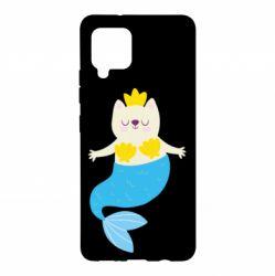 Чохол для Samsung A42 5G Cat-mermaid