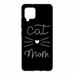 Чохол для Samsung A42 5G Cat mom