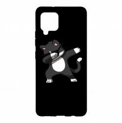 Чохол для Samsung A42 5G Cat SWAG