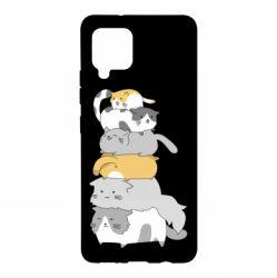 Чохол для Samsung A42 5G Cats
