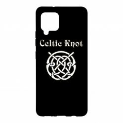 Чохол для Samsung A42 5G Celtic knot black and white