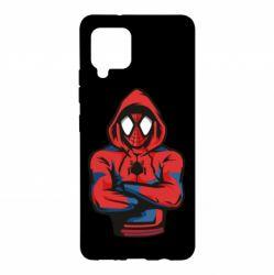 Чохол для Samsung A42 5G Людина павук в толстовці