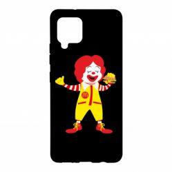 Чохол для Samsung A42 5G Clown McDonald's