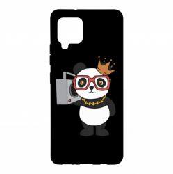 Чохол для Samsung A42 5G Cool panda