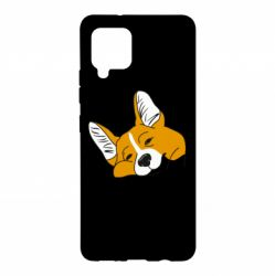 Чохол для Samsung A42 5G Corgi is dozing