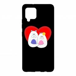 Чохол для Samsung A42 5G Couple Bears