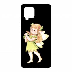 Чохол для Samsung A42 5G Cute Fairy in watercolor style