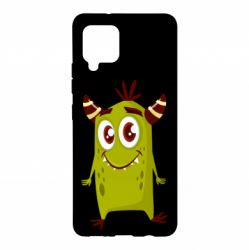 Чохол для Samsung A42 5G Cute green monster