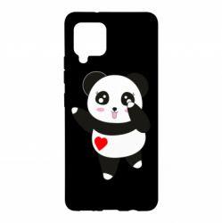 Чохол для Samsung A42 5G Cute little panda
