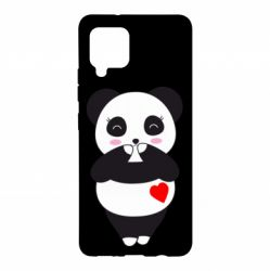Чохол для Samsung A42 5G Cute panda