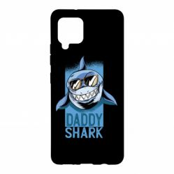 Чохол для Samsung A42 5G Daddy shark