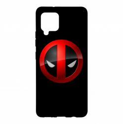 Чехол для Samsung A42 5G Deadpool Logo