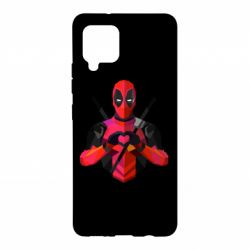 Чохол для Samsung A42 5G Deadpool Love