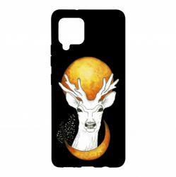 Чохол для Samsung A42 5G Deer and moon