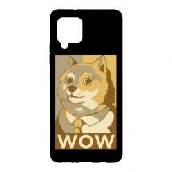 Чохол для Samsung A42 5G Doge wow meme