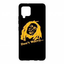 Чохол для Samsung A42 5G don't Worry (Bob Marley)