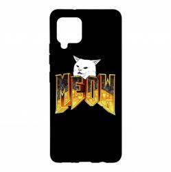 Чохол для Samsung A42 5G Doom меов cat