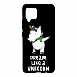 Чехол для Samsung A42 5G Dream like a unicorn
