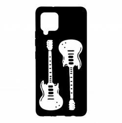 Чохол для Samsung A42 5G Дві гітари
