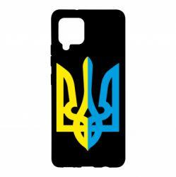 Чохол для Samsung A42 5G Двокольоровий герб України
