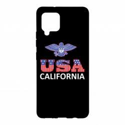 Чехол для Samsung A42 5G Eagle USA