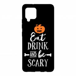 Чохол для Samsung A42 5G Eat Drink and be Scary
