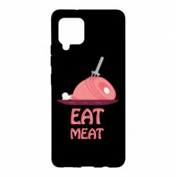 Чехол для Samsung A42 5G Eat meat