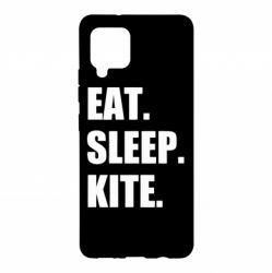 Чохол для Samsung A42 5G Eat, sleep, kite
