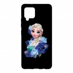 Чохол для Samsung A42 5G Elsa and roses