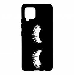 Чохол для Samsung A42 5G Eyelashes