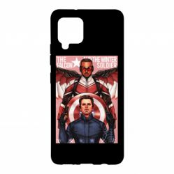 Чохол для Samsung A42 5G Falcon and the Winter Soldier Art