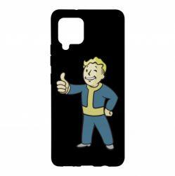 Чехол для Samsung A42 5G Fallout Boy