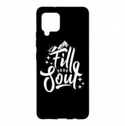Чохол для Samsung A42 5G Fill your soul and mountains