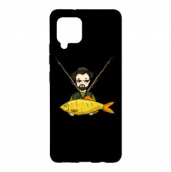 Чохол для Samsung A42 5G Fisherman and fish